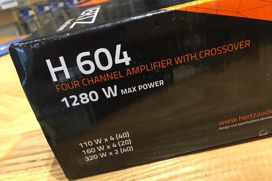 AMPLI HERTZ H604 - Hình 3