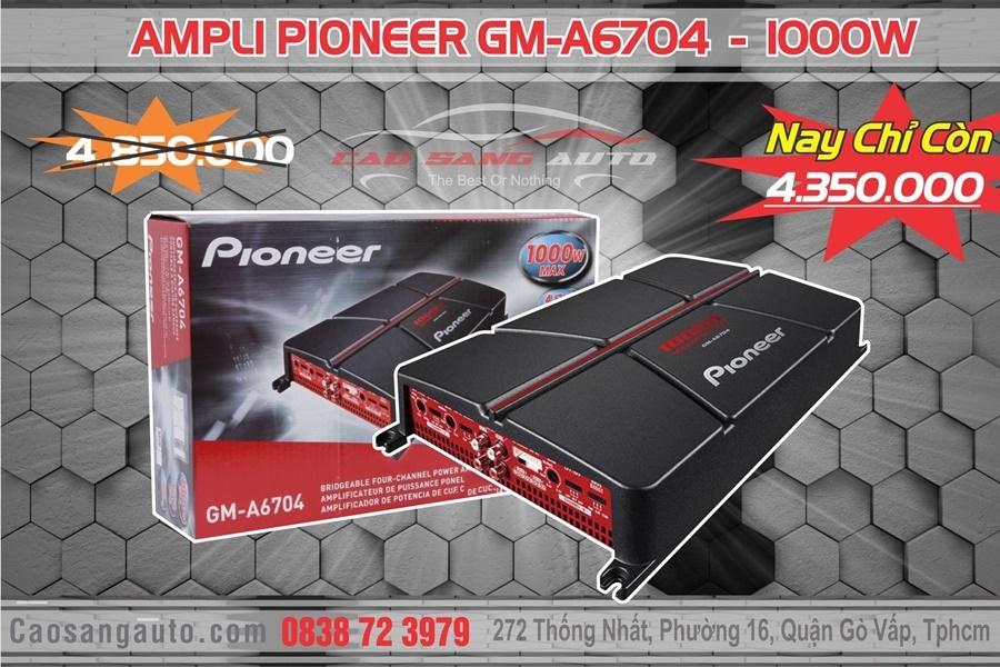 AMPLI PIONEER GM-A6704 - Hình 3