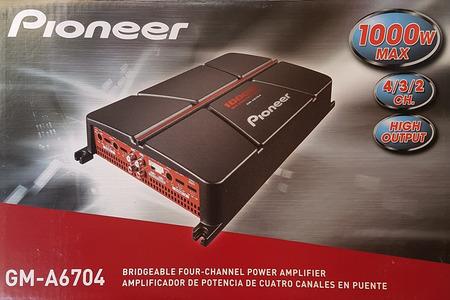 AMPLI PIONEER GM-A6704 - Hình 2