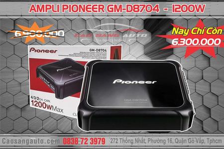 AMPLI PIONEER GM-D8704