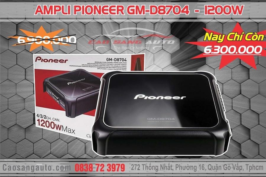 AMPLI PIONEER GM-D8704 - Hình 4