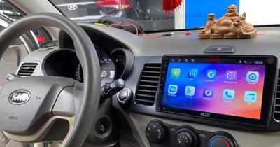 【Báo Giá】Lắp màn hình Android cho ô tô Kia Morning chi tiết nhất