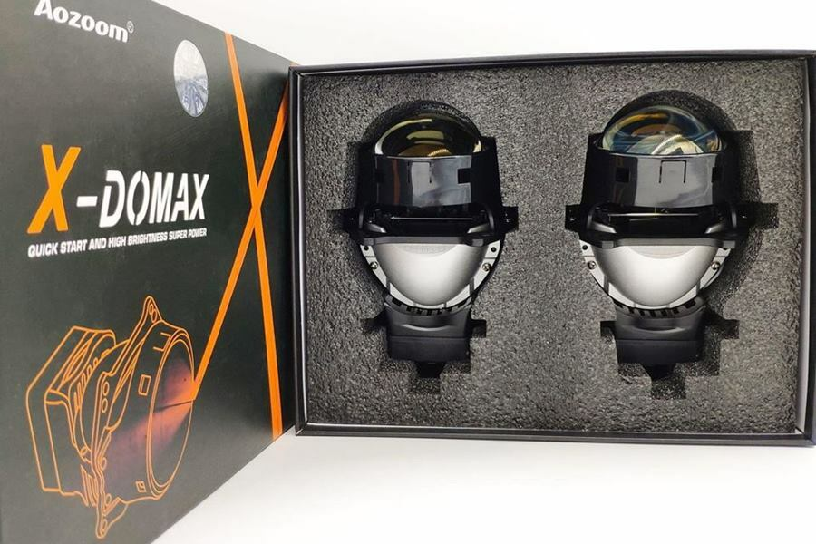 Bi Led X Domax cho tất cả dòng xe ô tô - Cao Sang Auto