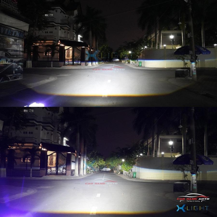 Bi Led X-Light V20 Ultra Cho Xe Hơi - Ô tô Tại Cao Sang Auto