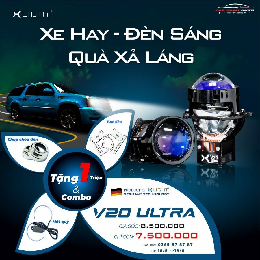 Bi Led X-Light V20 Ultra