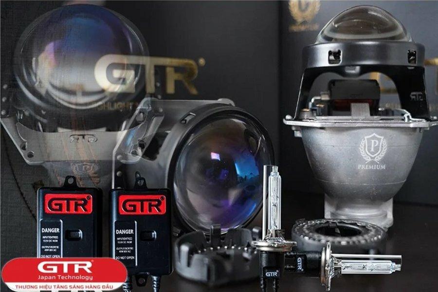 Bi xenon GTR tăng sáng 180% - BH 5 năm
