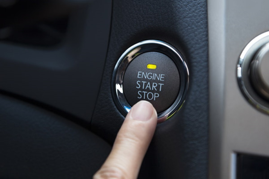 Nút bấm Startstop Engine thay thế ổ khóa cơ truyền thống