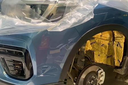 Cách âm chống ồn 4 hốc bánh cho xe ô tô 7 chỗ - Hình 4
