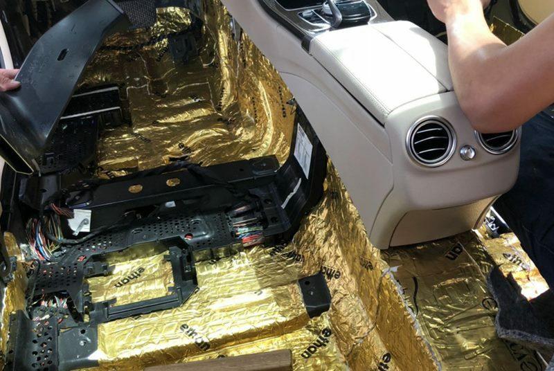Cách âm chống ồn cho xe ô tô 7