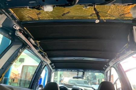 Cách âm chống ồn trần xe ô tô 7 chỗ - Hình 1