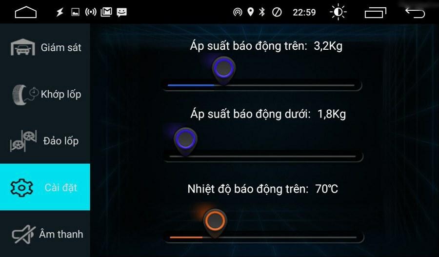 Cảm biến áp suất lốp kết nối USB iCar TN602 - Cao Sang Auto