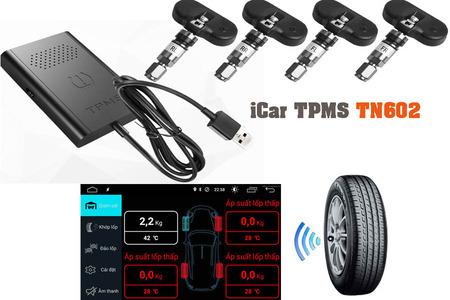Cảm biến áp suất lốp kết nối USB iCar TN602