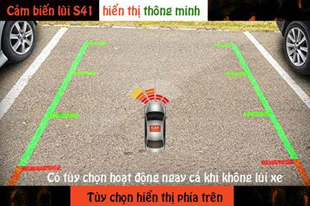 Cảm biến lùi 4 mắt hỗ trợ đỗ xe ICar Parking S41 - Hình 1