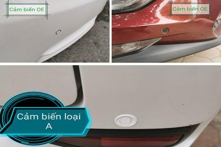 Cảm biến lùi hỗ trợ đỗ xe chống va chạm kiểu nguyên bản 4 mắt - Hình 4
