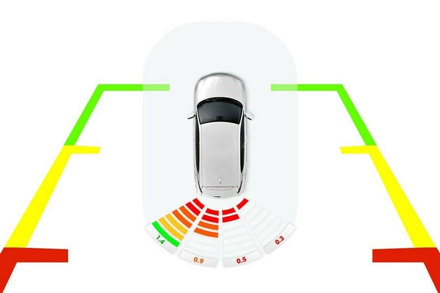 Cảm biến lùi hỗ trợ đỗ xe chống va chạm kiểu nguyên bản 4 mắt - Hình 1