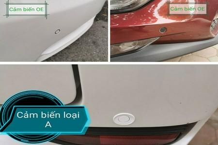Cảm biến lùi hỗ trợ đỗ xe chống va chạm trước sau kiểu nguyên bản 8 mắt - Hình 4