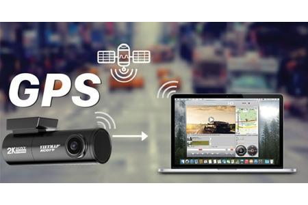 Camera hành trình VIETMAP KC01 Phiên Bản 2021 - CẢNH BÁO TỐC ĐỘ - GHI HÌNH TRƯỚC SAU - KÊT NỐI WIFI