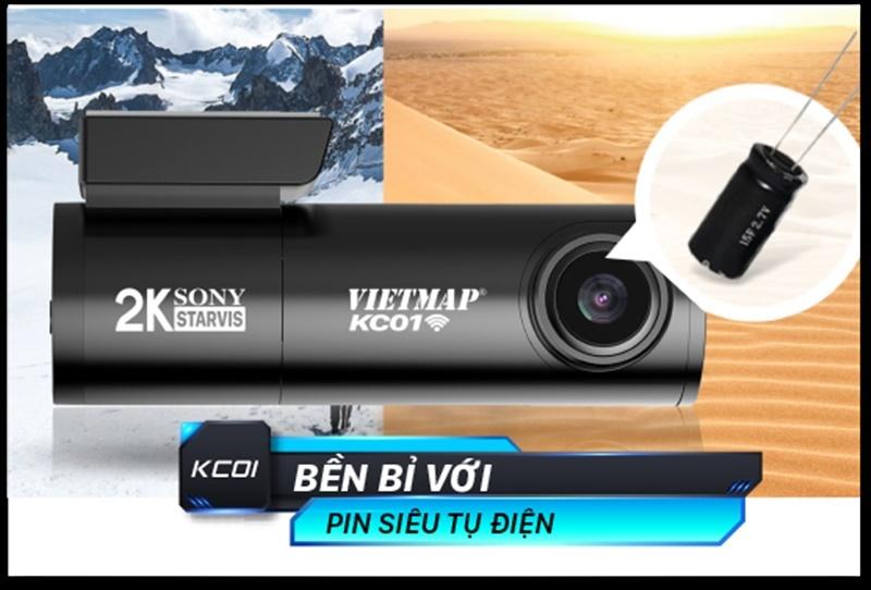 Camera hành trình VietMap KC01 - Thiết kế sang trọng