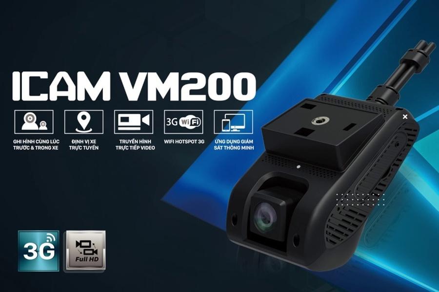 Camera VIETMAP iCAM VM200 - Định vị xe từ xa bằng điện thoại