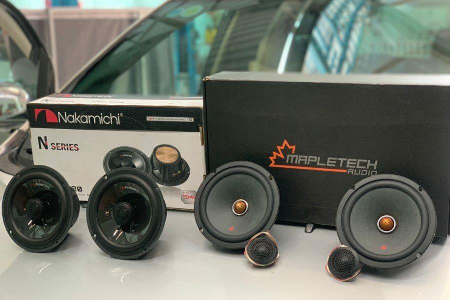 Cấu hình âm thanh Mapletech Canada 7 loa cho xe 7 chỗ - Hình 1