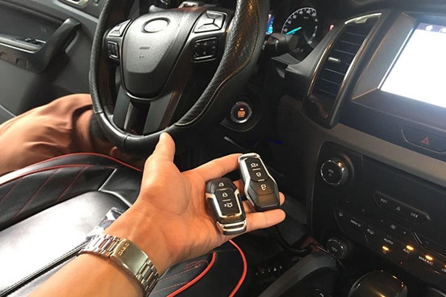 Start/Stop SmartKey Trên Ford Ranger Vua Bán Tải
