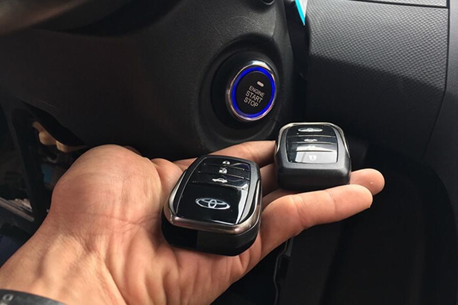 Toyota Yaris Độ Smartkey OVI