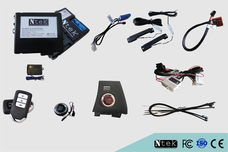 Chìa khóa thông minh cho Oto Smartkey Ntek For Honda City 2013 – 2016 - Hình 3
