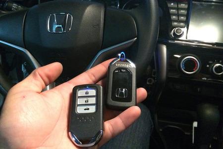 Chìa khóa thông minh cho Oto Smartkey Ntek For Honda City 2013 – 2016