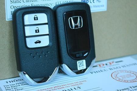 Chìa khóa thông minh cho Oto Smartkey Ntek For Honda City 2013 – 2016 - Hình 5