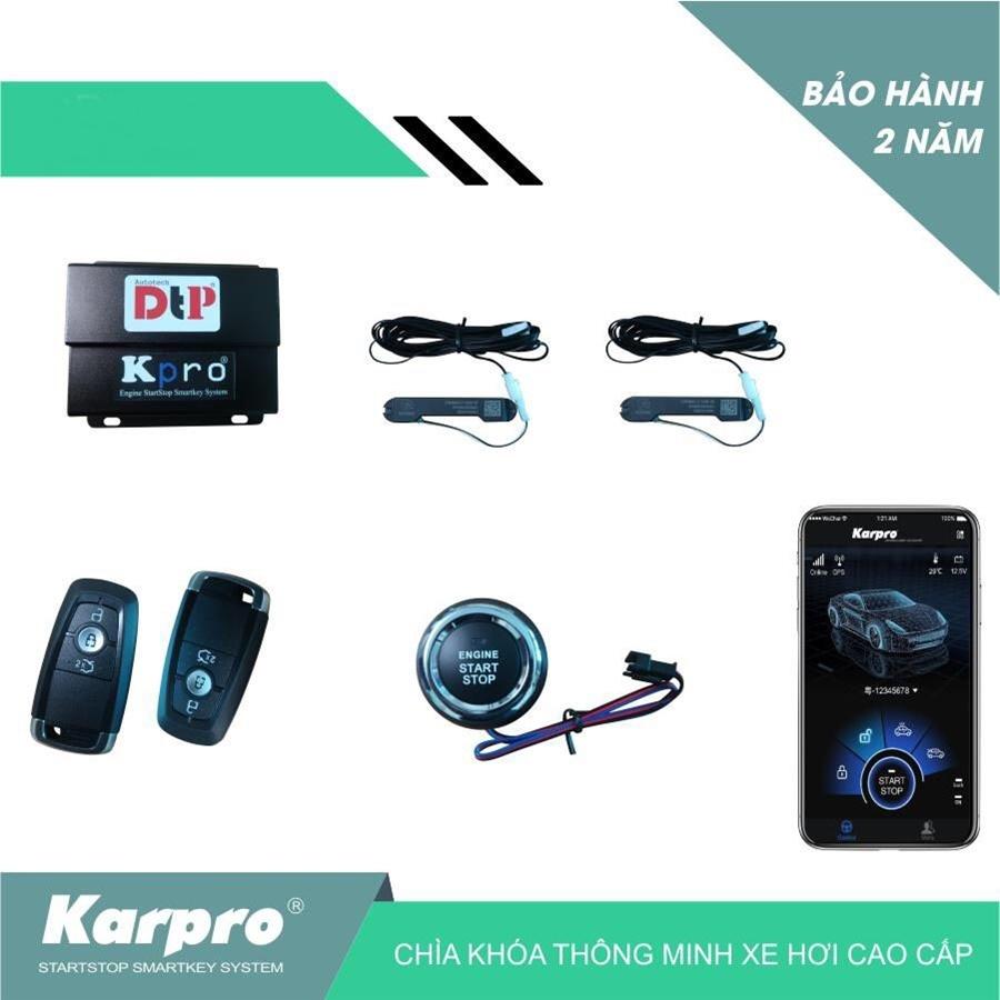 Chìa khóa thông minh Karpro | Smartkey Kia Morning