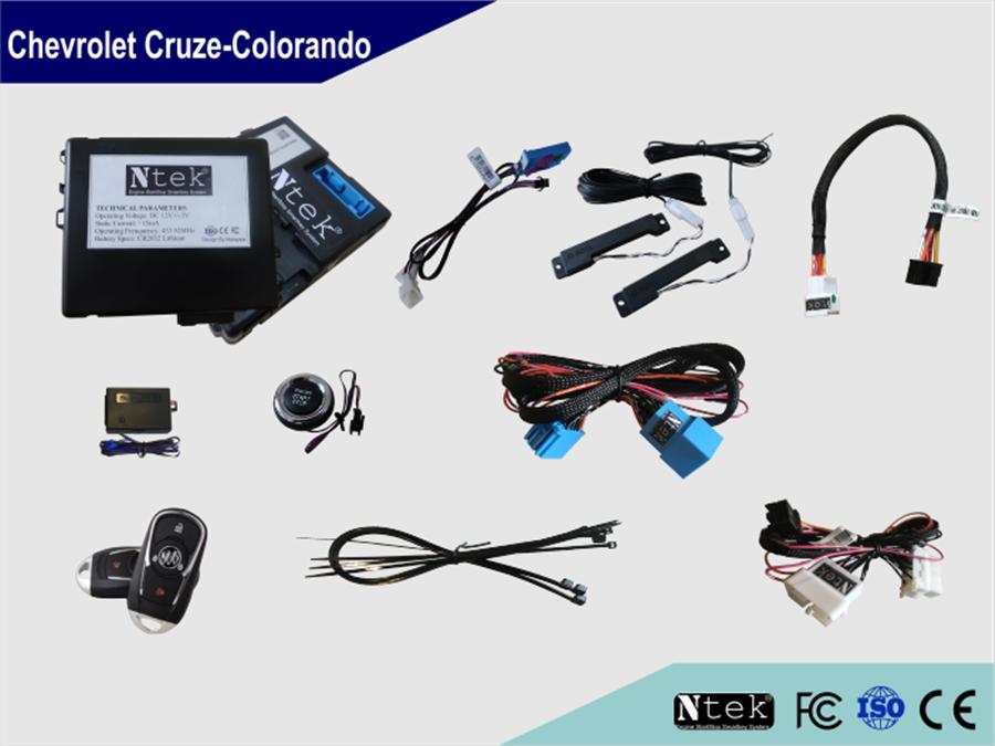 Chìa khóa thông minh Smartkey Ntek For Chevrolet Cruze