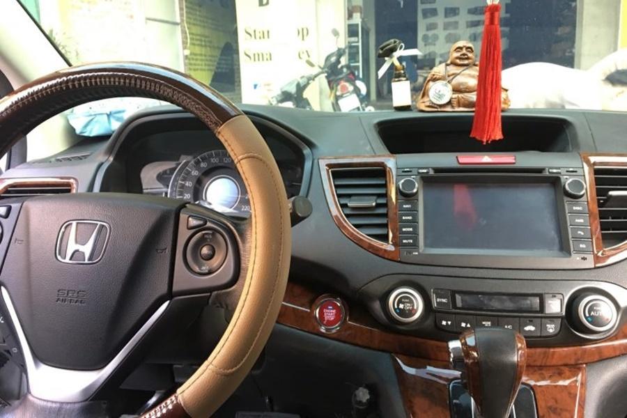 Lắp đặt hoàn thiện trên xe Honda CRV