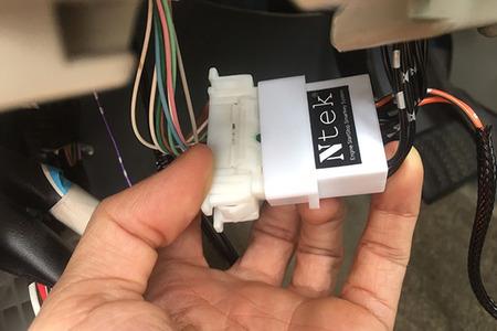 Chìa khóa thông minh Smartkey Ntek For Toyota Altis 2009 - 2012 - Hình 2