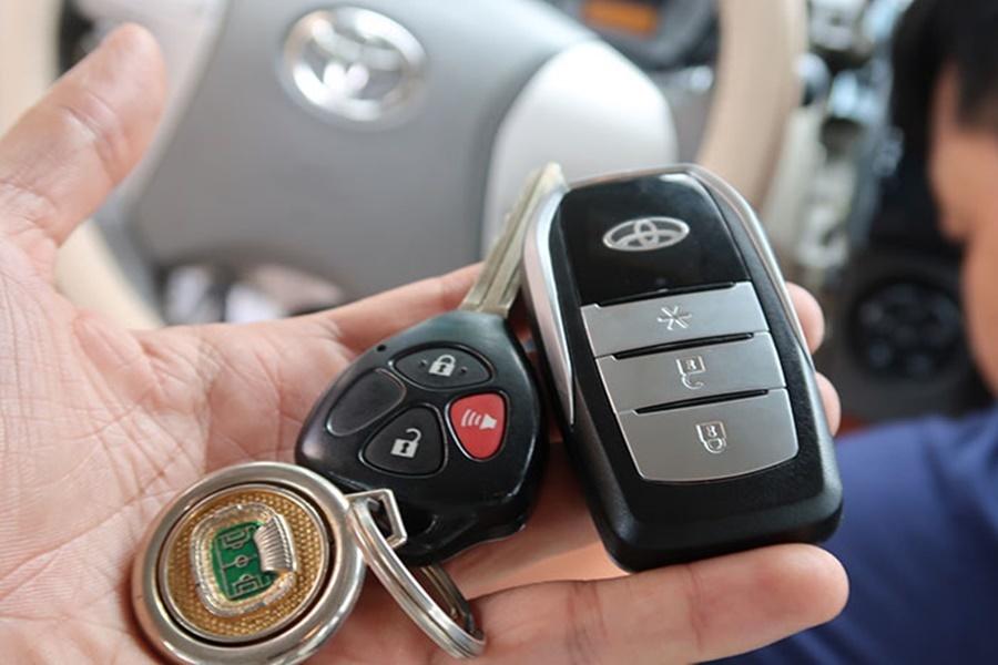 Chìa khóa thông minh Smartkey Ntek For Toyota Altis 2009 - 2012 - Hình 3
