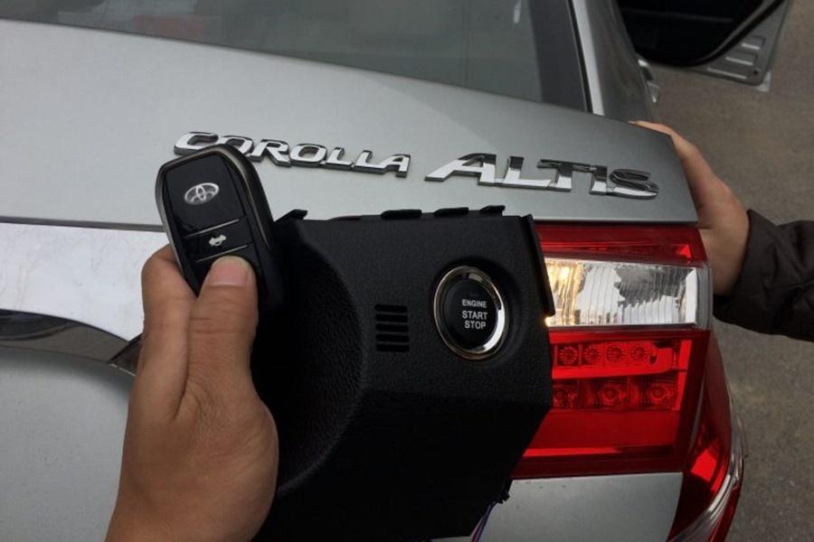 Chìa khóa thông minh Smartkey Ntek For Toyota Altis 2013 - 2017