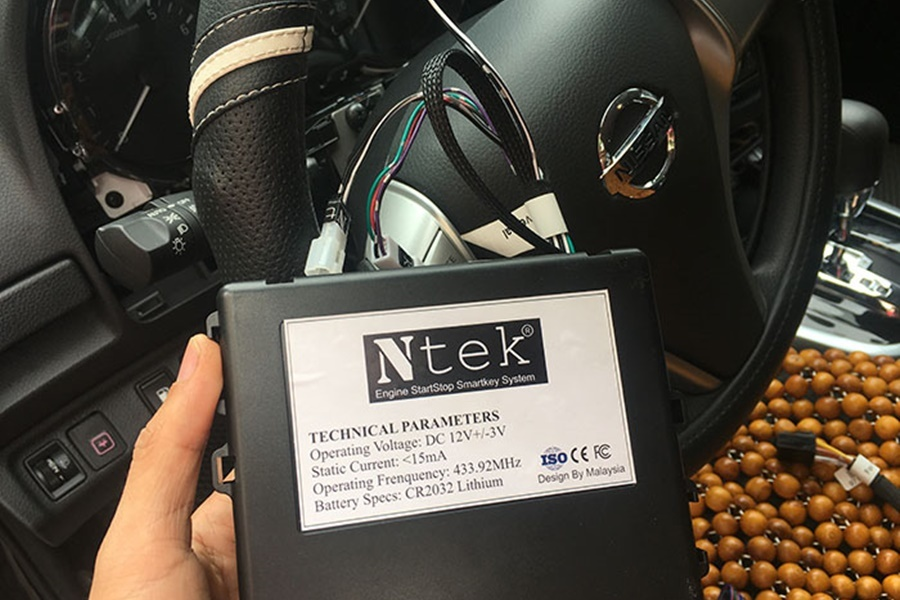 Chìa khóa thông minh Smartkey Ntek Nissan Terra - Hình 2