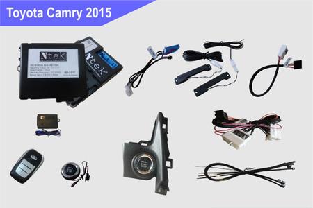 Chìa khóa thông minh Smartkey Ntek Toyota Camry 2013 – 2017 - Hình 3