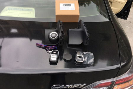 Chìa khóa thông minh Smartkey Ntek Toyota Camry 2013 – 2017 - Hình 2