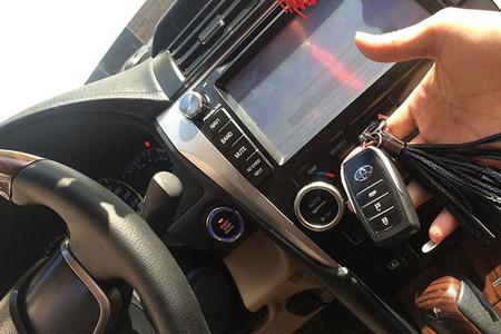 Chìa khóa thông minh Smartkey Ntek Toyota Camry 2013 – 2017