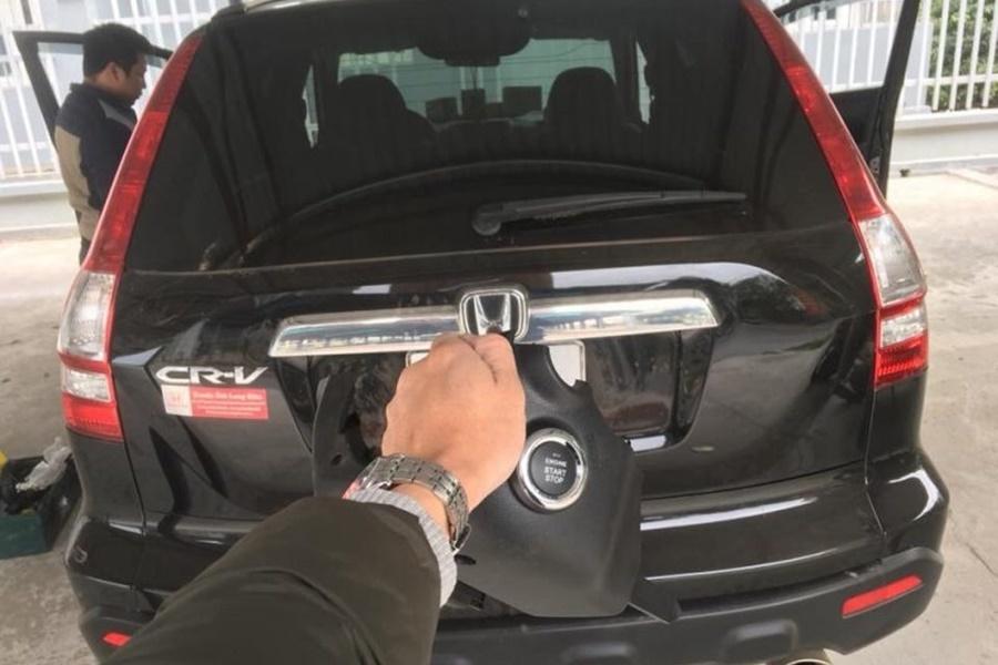 Honda Crv Độ SmartKey