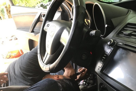 Chìa khóa thông minh Startstop Smartkey Ntek For Mazda 3 - Hình 3
