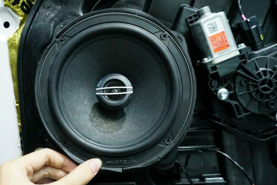 COMBO 4 loa cánh, Amplifie HERTZ (Ý) và 1 loa sub DB Drive (Mỹ) cho Hyundai Santafe 2019 - Hình 5