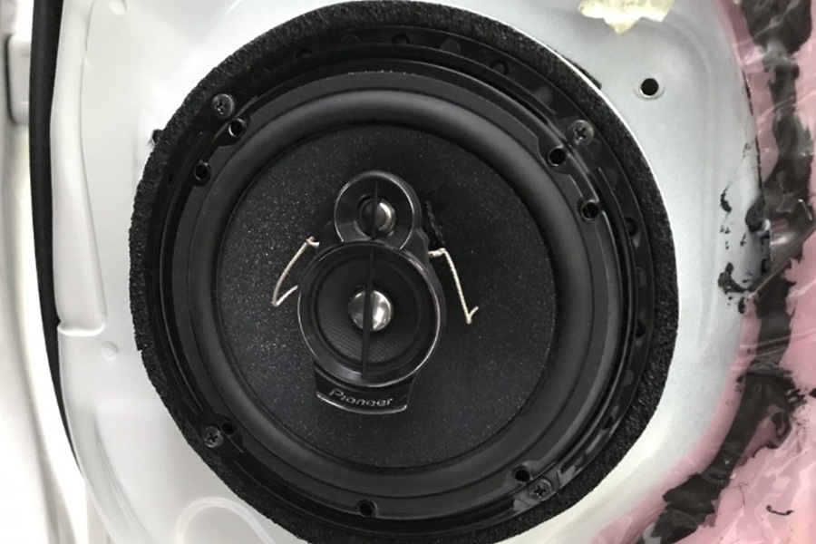 Combo 6 loa từ Pioneer và 1 loa sub DB cho Honda CRV 2016 - Hình 2