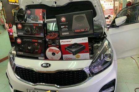 COMBO 9 loa DB Drive danh cho xe ô tô 7 chỗ