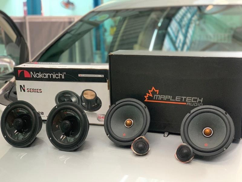 Âm thanh nâng cao cho xe hơi