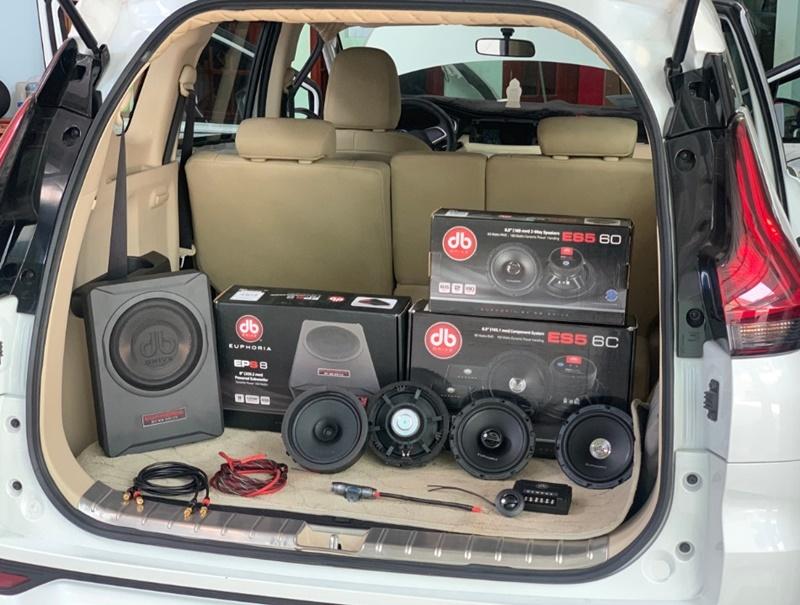 Combo âm thanh nâng cao dành cho xe hơi