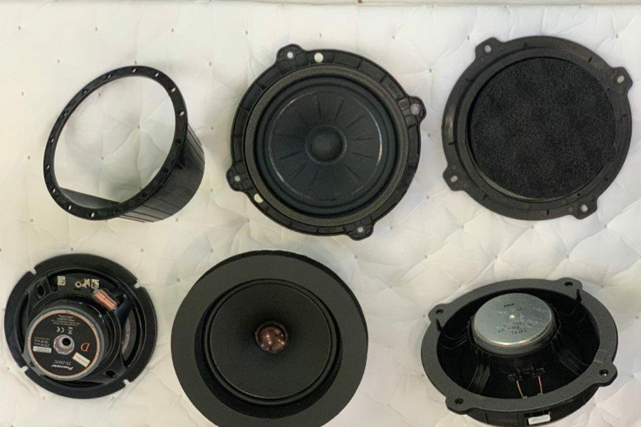 COMBO Amplifier và 4 loa Pioneer Nhật kết hợp sub DB Mỹ cho Tucson - Hình 2