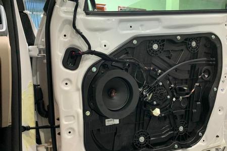 COMBO Amplifier và 4 loa Pioneer Nhật kết hợp sub DB Mỹ cho Tucson - Hình 3
