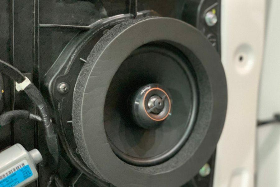 COMBO Amplifier và 4 loa Pioneer Nhật kết hợp sub DB Mỹ cho Tucson - Hình 4