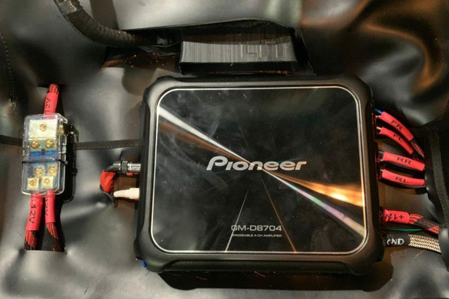 COMBO Amplifier và 4 loa Pioneer Nhật kết hợp sub DB Mỹ cho Tucson - Hình 6